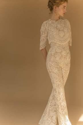 Courtesy of Francesca Miranda Wedding jumpsuit by Francesca Miranda