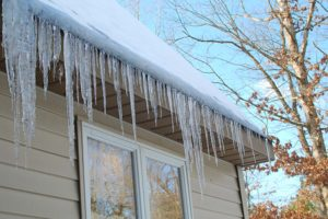 Ice from heat loss
