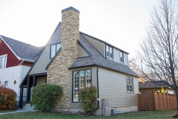 Updated Winnipeg home with Hardie board siding