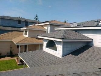 El Segundo Houses Neigbor GAF Roofs