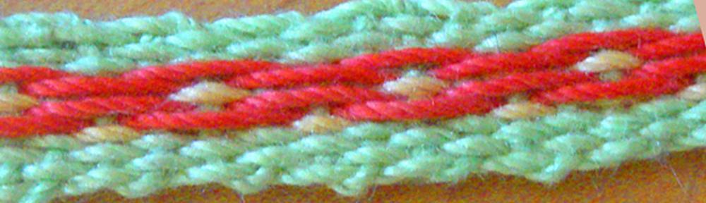 Simple pebble weave band