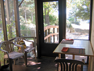 Screened porch enclosure