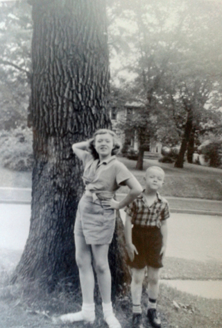 Anne and Craig in 1952