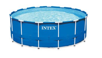 intex metal frame above ground pool review