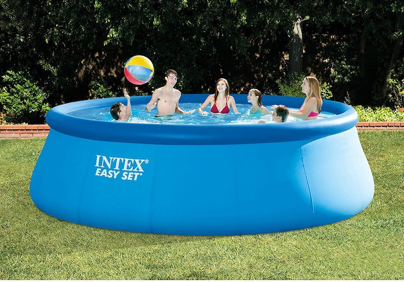 Superior Intex Easy Set Above Ground Pool