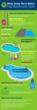 11 Money Saving Tips to Reduce Pool Maintenance Costs [Infographic]