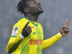 Nigerian forward Moses Simon Signs 4-year Deal To Remain At French Club Nantes After An Impress
