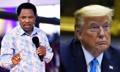 """Prophet T.B Joshua Sends Prophetic Warning To Donald Trump On """"Security Issues"""""""