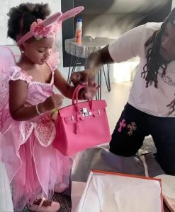 Cardi B Addresses Those Trolling Her Husband For Buying Their 2-Year-Old Daughter A N6million Hermes Bag (Video)