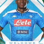 Napoli Announce Signing Of Nigerian Striker, Osimhen