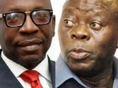 Oshiomhole Is Not My God Father He Works For Me, – Osagie Ize-Iyamu