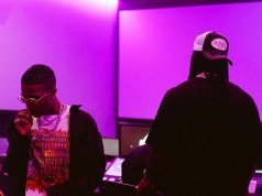 Wizkid Hints Collaboration With Burna Boy Gets Fans Excited (Photos)
