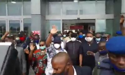 Nyesom Wike Receives Hero's Welcome As He Arrives Port Harcourt From Edo (video)