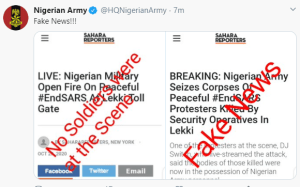 Lekki Massacre: The Governor Of Lagos Sanwo-Olu Confirms The Deployment Of Army At Lekki Tollgate (Video)