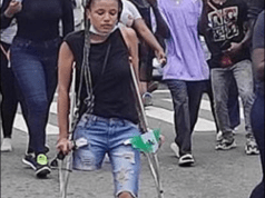 EndSARS Protesters Raise Over N4million To Help Protester Without Limb