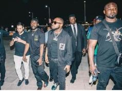 Drama As Davido And His Crew Were Denied Access To Ghanaian Club, Bloombar (Video)