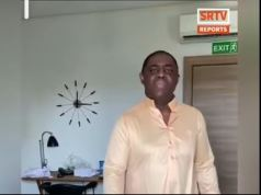 Fani-Kayode Caught On Tape In Heated Argument With Estranged Wife, Precious (Video)