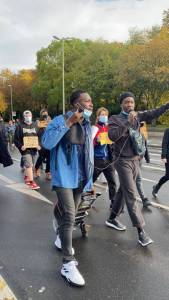 #EndSARS Protest Continues In Germany And London Despite Crackdown On Demonstrators In Nigeria