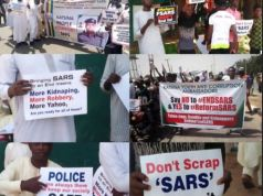 Angry Nigerians Reacts As Northern Youths Carry Out Rally Insisting SARS Must Not Be Scrapped