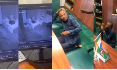 Shock As House Of Rep Member's Aide Is Caught Burgling Another Lawmaker's Office