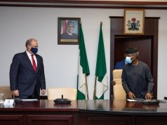 US Officials Meet With Nigeria's VP Osinbajo Over Unrest In The Country And Make Demands..