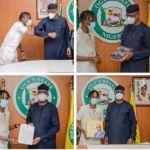 Ogun State Governor Appoints Laycon as Youth Ambassador, Gifts Him N5million And House (Photos)