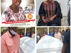 Nigerian Actress Ada Ameh's Only Daughter Finally Buried (Photos)