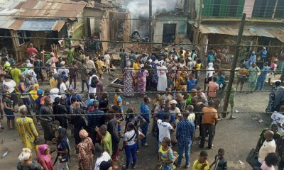 Serious Commotion As Hoodlums And Thugs Attack Market In Oyo, (Photos)