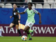 Asisat Oshoala Super Falcons Captain, Nominated For Prestigious UEFA Award