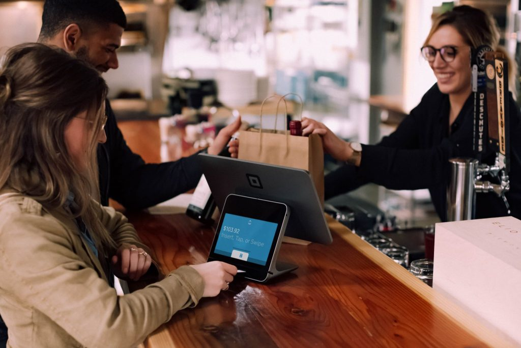 retail check out personalization customer service tech