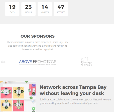 Above Promotions Sponsors Break Tampa Bay