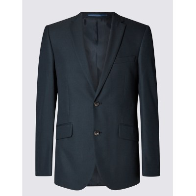 M&S Collection Tailored Fit Navy Suit