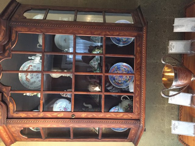 Nichols House - china cabinet