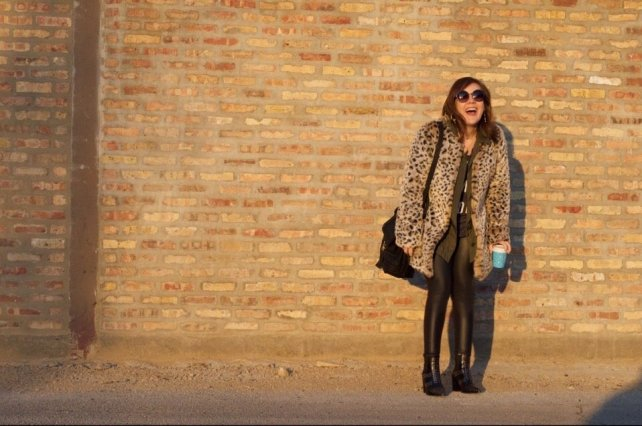 Leopard Print and Studded Boots