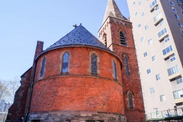 Chapel of Good Shepherd - Back