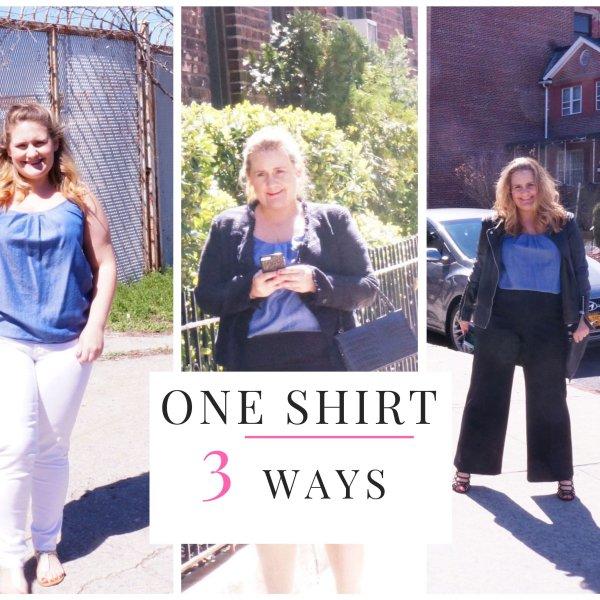 Denim Shirt Three Ways