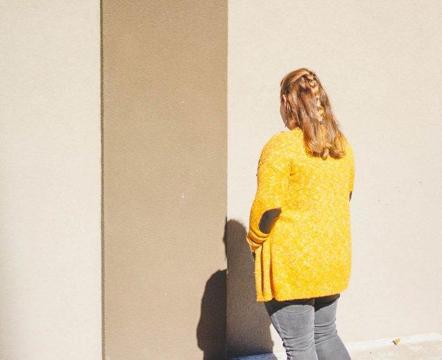 Mustard-Cardigan-back-view
