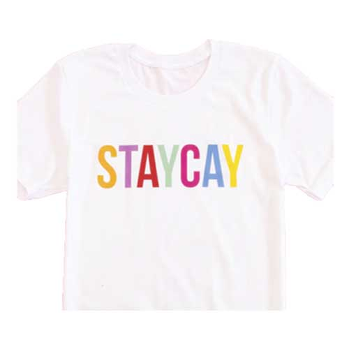 small businesses - staycay shirt
