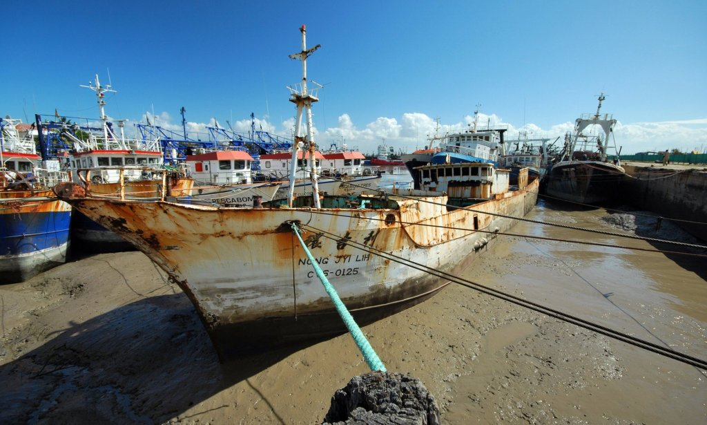 Money from the Beira 2035 plan will be used to dredge the derelict harbour and regenerate the area. Photograph: Alamy