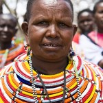 Josepaht's mum, Leah, leads a group of 23 women in the campaign to end FGM. Picture: Jessica Lea/DFID