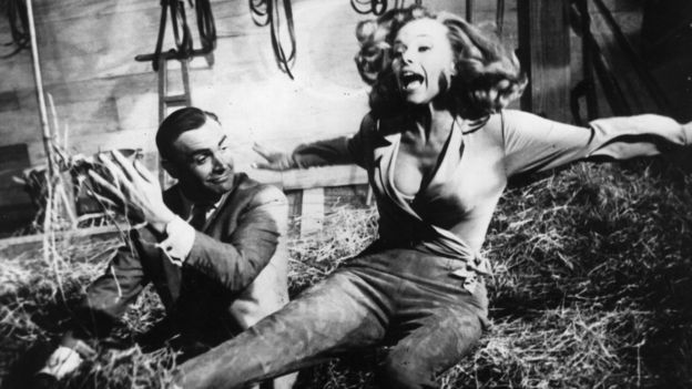 Goldfinger, starring Sean Connery and Honor Blackman, was Hamilton's first Bond film