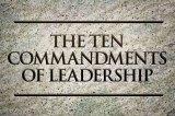10 Commandments For Women In Leadership