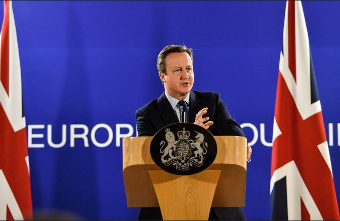 Prime Minister David Cameron in Brussels on Tuesday. The leaders of 27 European Union countries are meeting to discuss the aftermath of Britain's vote to leave the bloc, and Mr. Cameron is not invited. Credit Philippe Huguen/Agence France-Presse — Getty Images