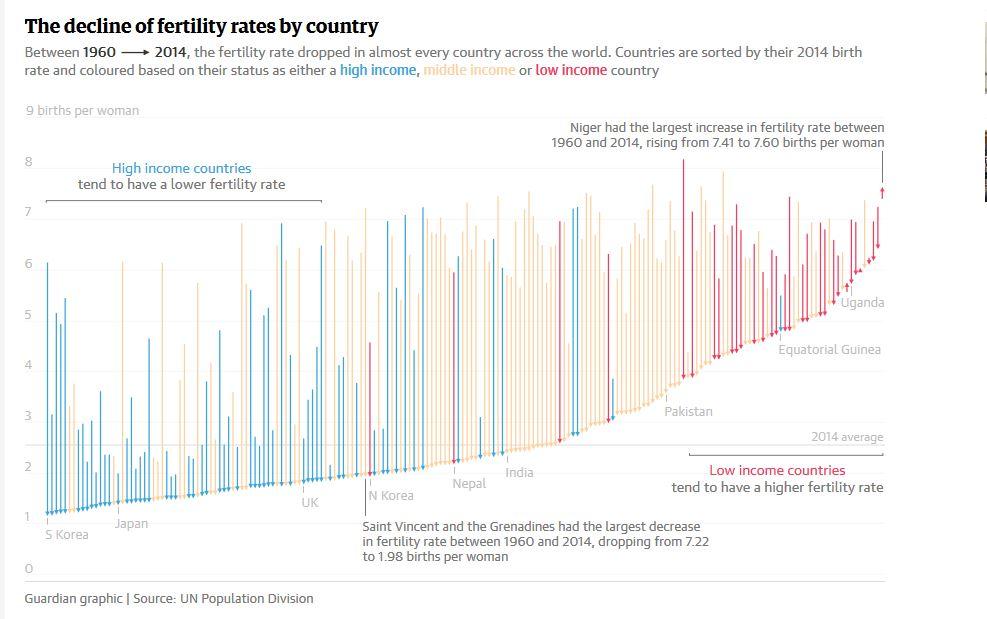 Decline Fertility