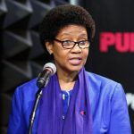 The executive director of UN Women, Phumzile Mlambo-Ngcuka, pictured at an event in New York. Photograph: Xinhua/Rex/Shutterstock