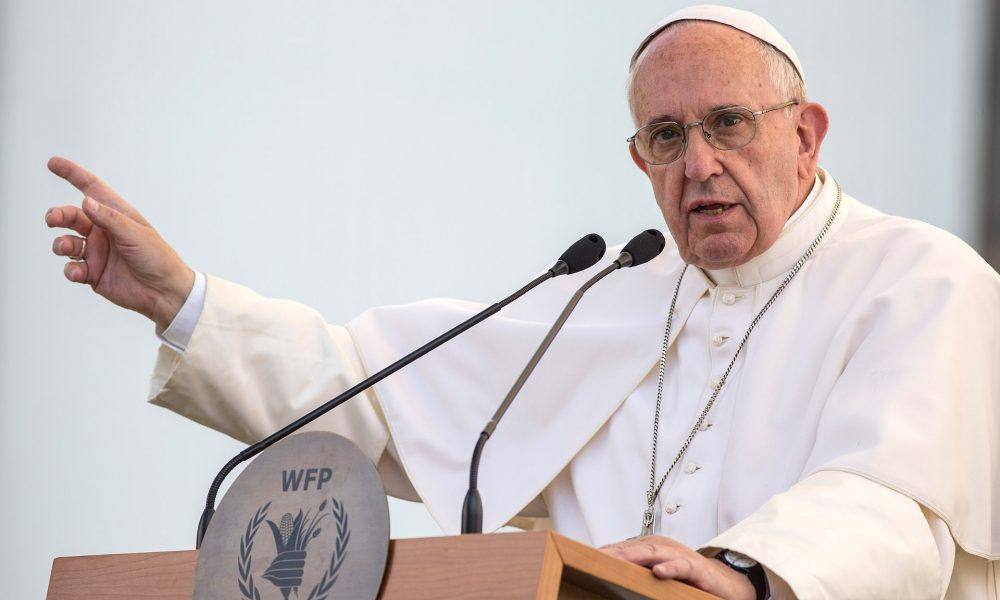 Pope Francis, who has long supported progressive causes in Argentina, and the centre-right president have often found themselves on opposite sides of political debate. Photograph: Vatican Pool/Getty Images