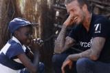 UNICEF Goodwill Ambassador David Beckham Visits Swaziland.