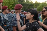 Armenian Police Clash With Demonstrators As Hostage Stand-Off Continues