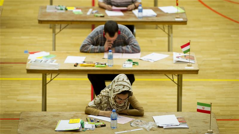 Contestants must be less than 20 years old and must not have any post-secondary education [Valerie Kuypers/ EPA]