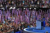 Michelle Obama's Stirring Democratic Convention Speech Brings Crowd To Tears